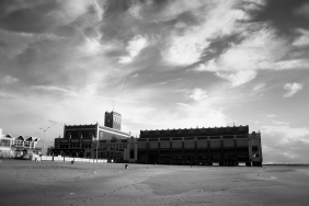 The view from south side of Convention Hall, Asbury Park Beach
