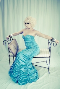 Alicia - Blue Gown