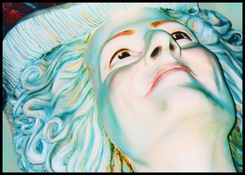A wax figure in Las Vegas