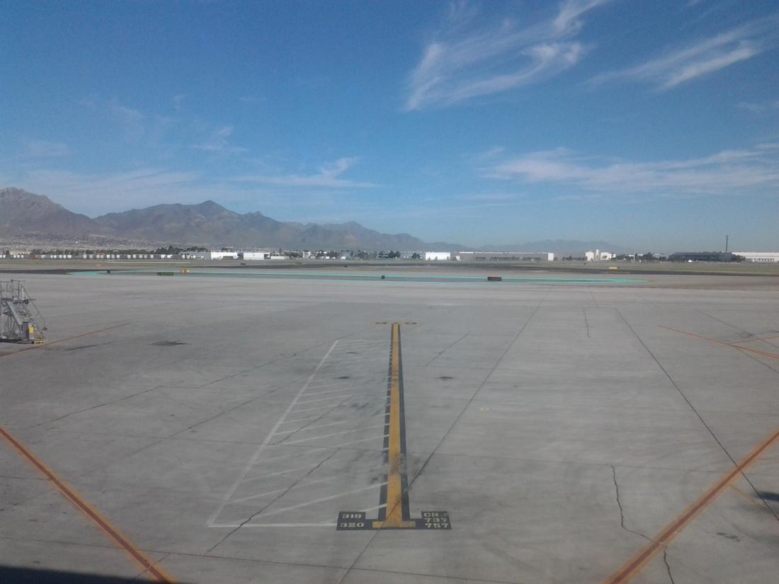 Sitting in El Paso Airport