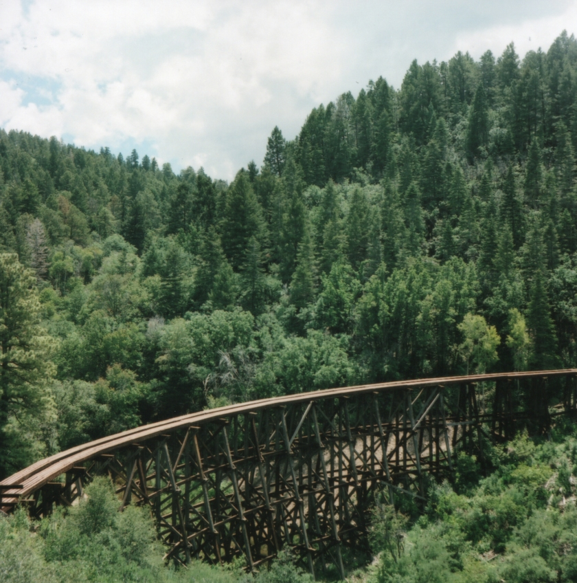 Mexican Canyon Bridge, Cloudcroft, NM